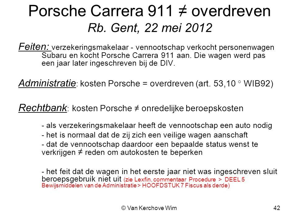 Porsche Carrera 911 ≠ overdreven Rb. Gent, 22 mei 2012