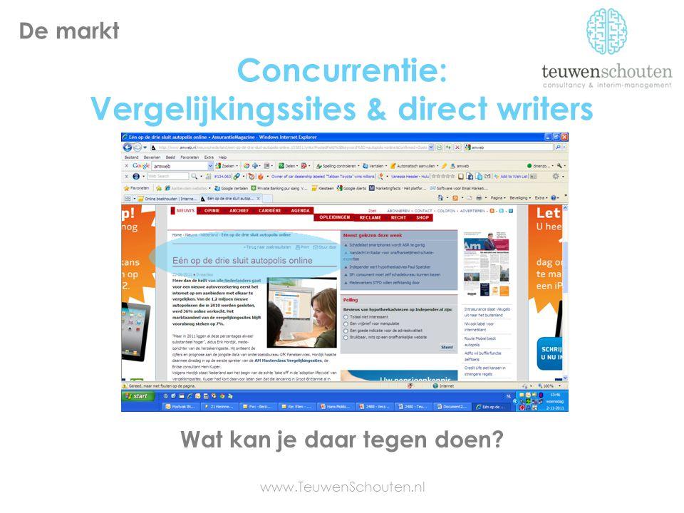 Vergelijkingssites & direct writers Wat kan je daar tegen doen