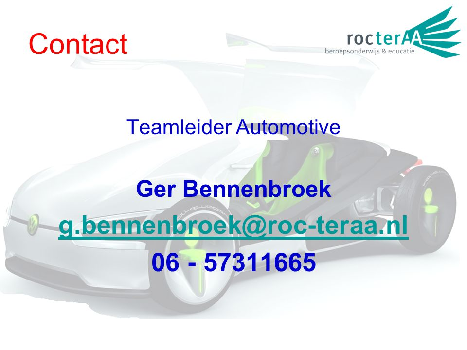 Teamleider Automotive