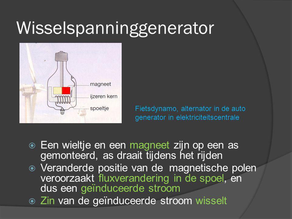 Wisselspanninggenerator