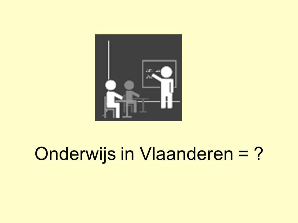 Onderwijs in Vlaanderen =