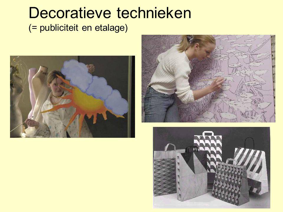 Decoratieve technieken