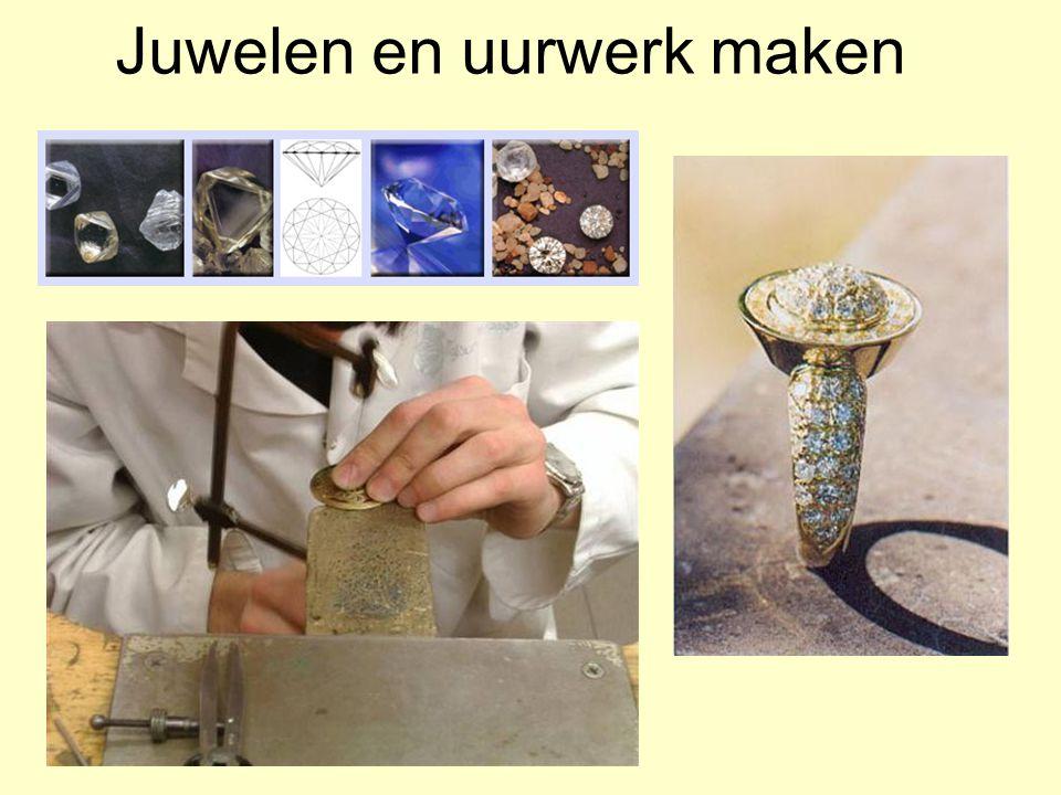 Juwelen en uurwerk maken