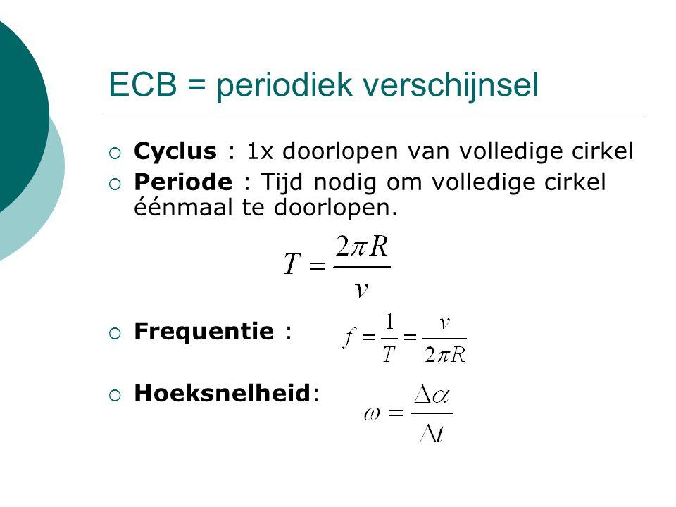 ECB = periodiek verschijnsel