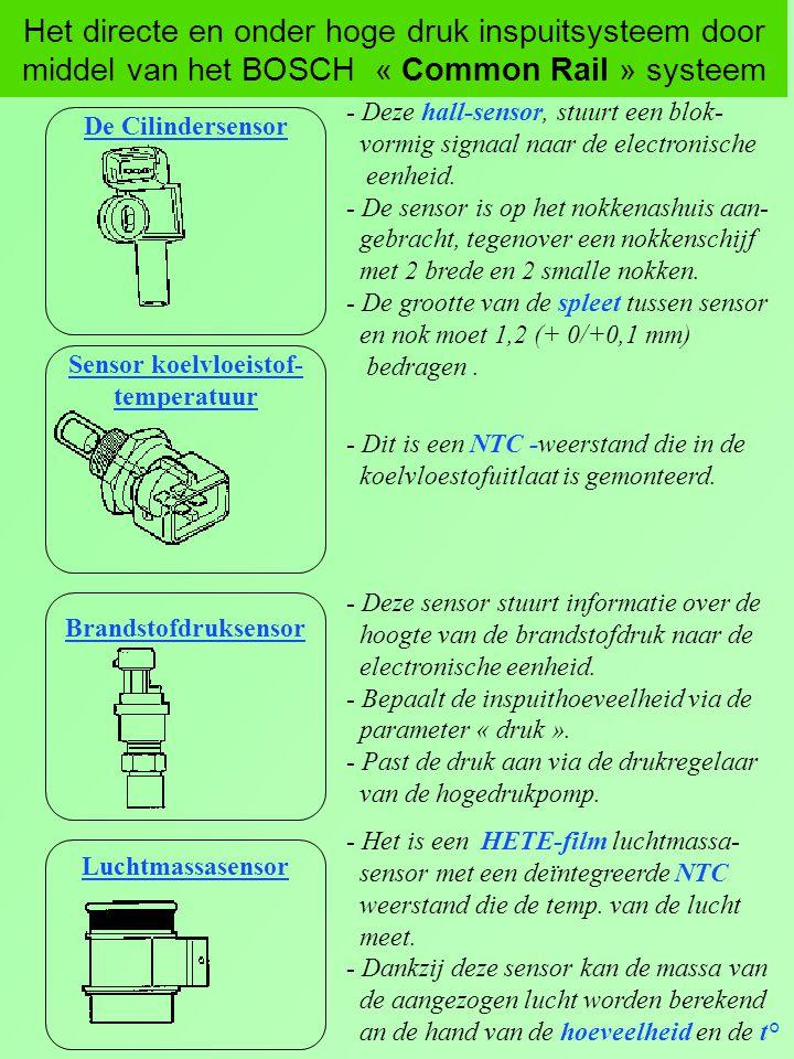Sensor koelvloeistof-