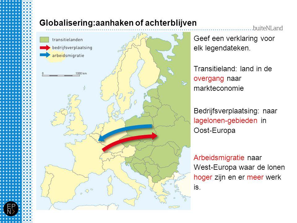 Globalisering:aanhaken of achterblijven