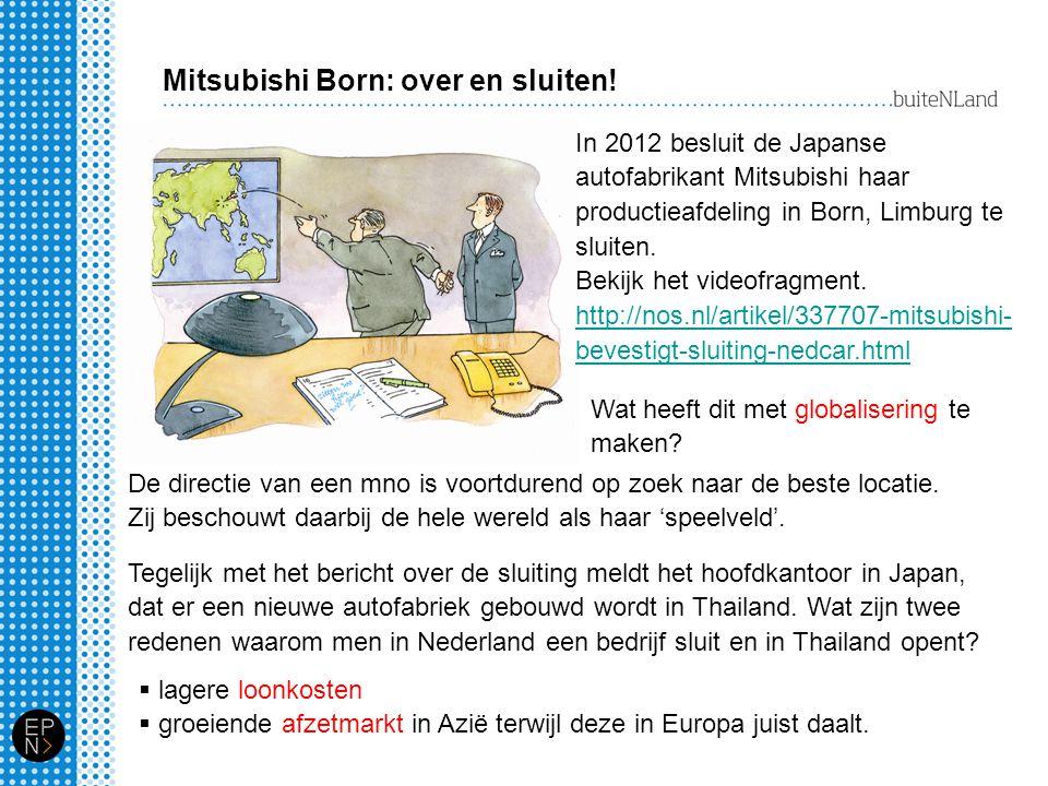 Mitsubishi Born: over en sluiten!