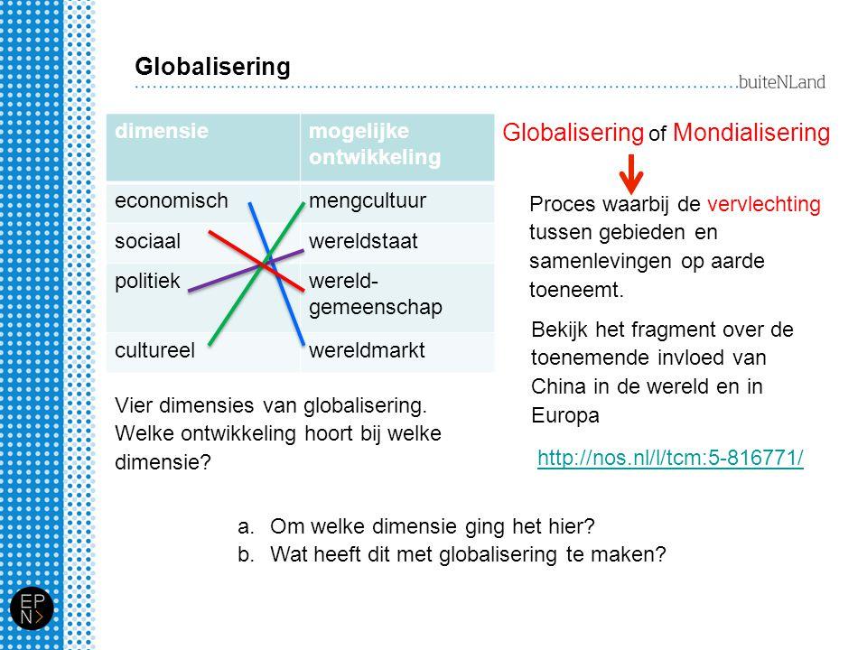 Globalisering of Mondialisering