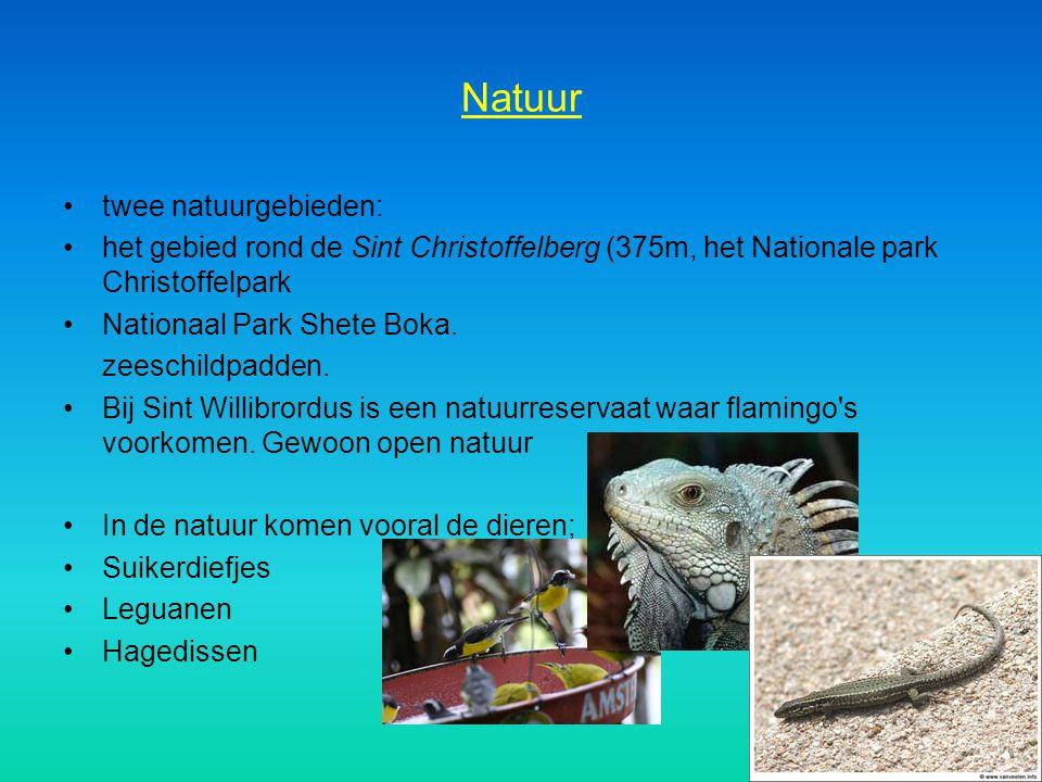 Natuur twee natuurgebieden: