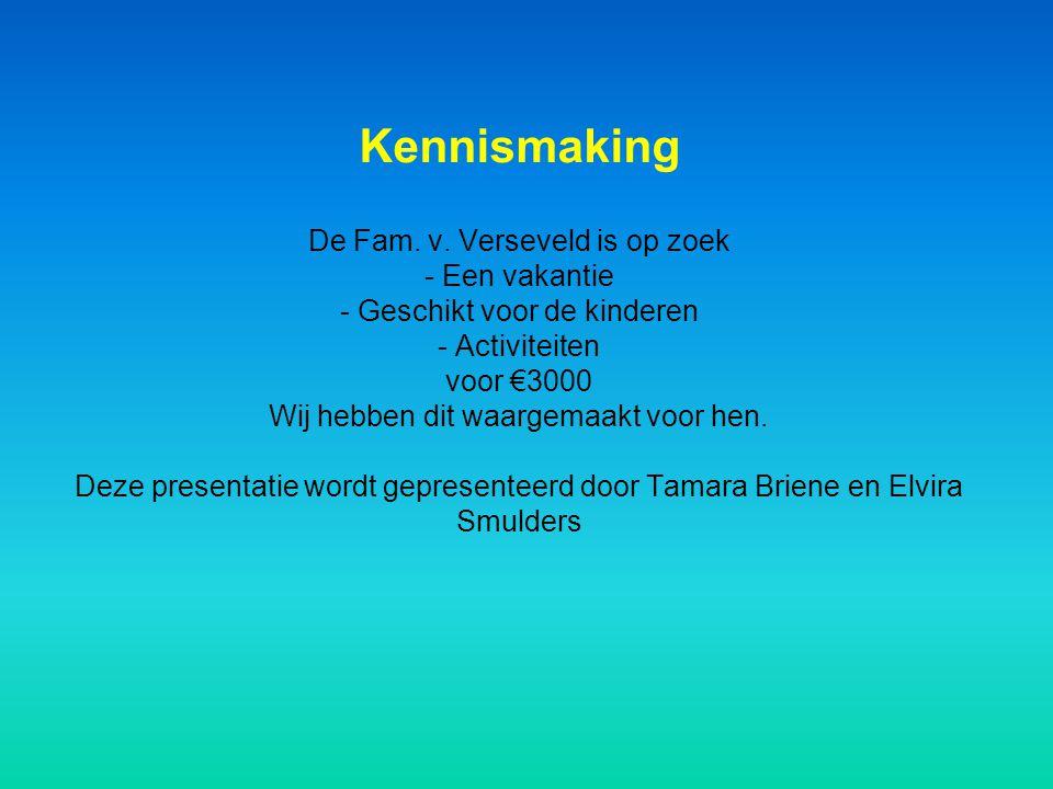 Kennismaking De Fam. v.
