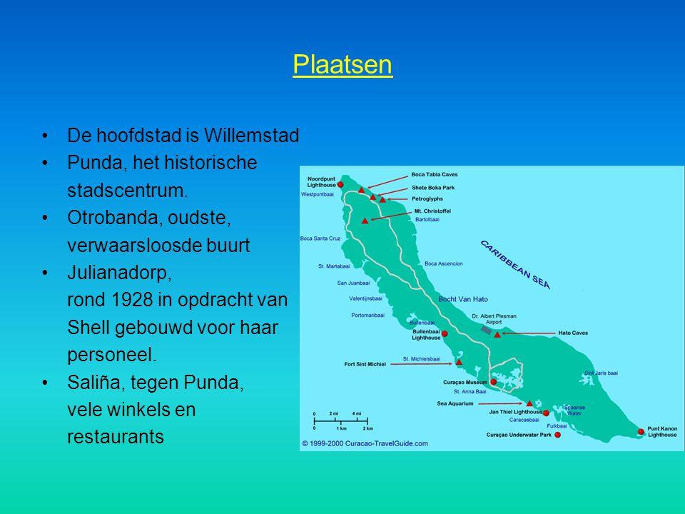 Plaatsen De hoofdstad is Willemstad Punda, het historische