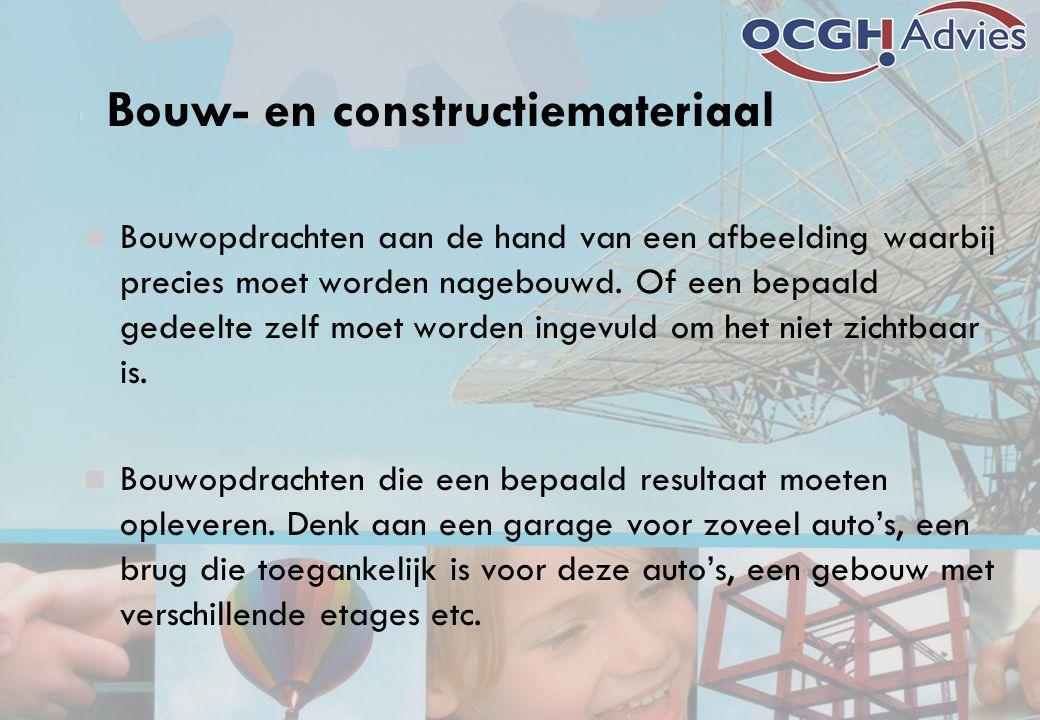 Bouw- en constructiemateriaal