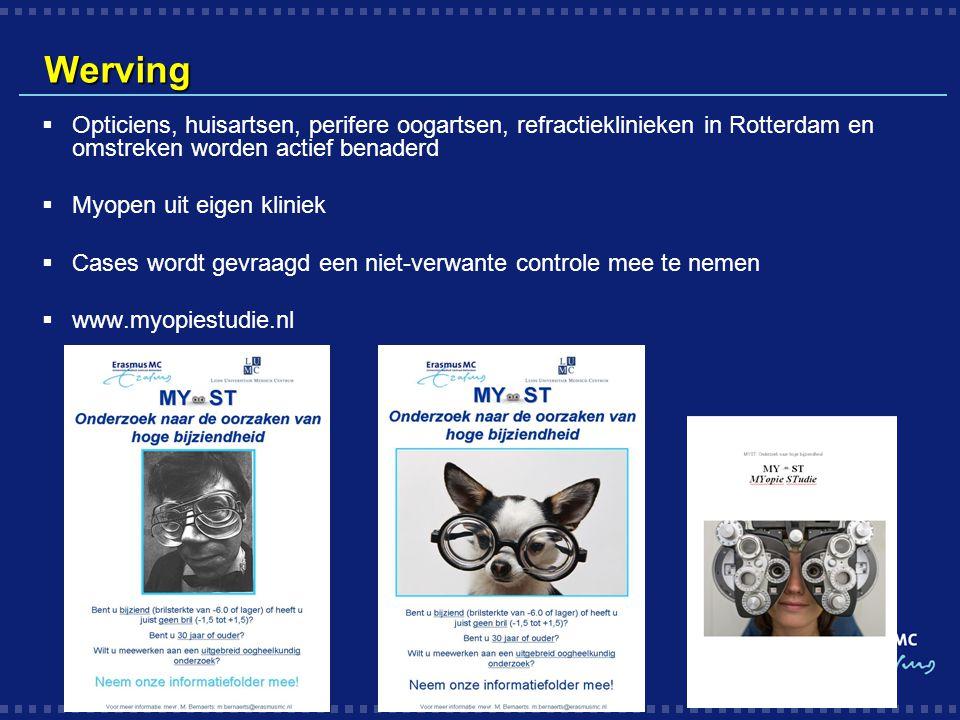 Werving Opticiens, huisartsen, perifere oogartsen, refractieklinieken in Rotterdam en omstreken worden actief benaderd.
