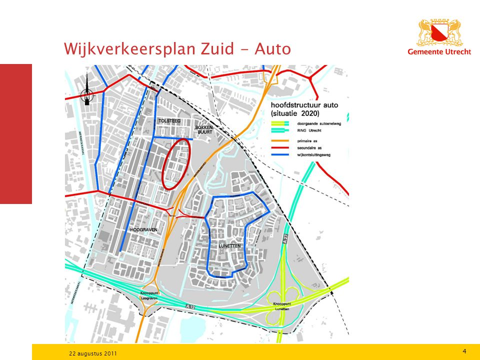Wijkverkeersplan Zuid - Auto