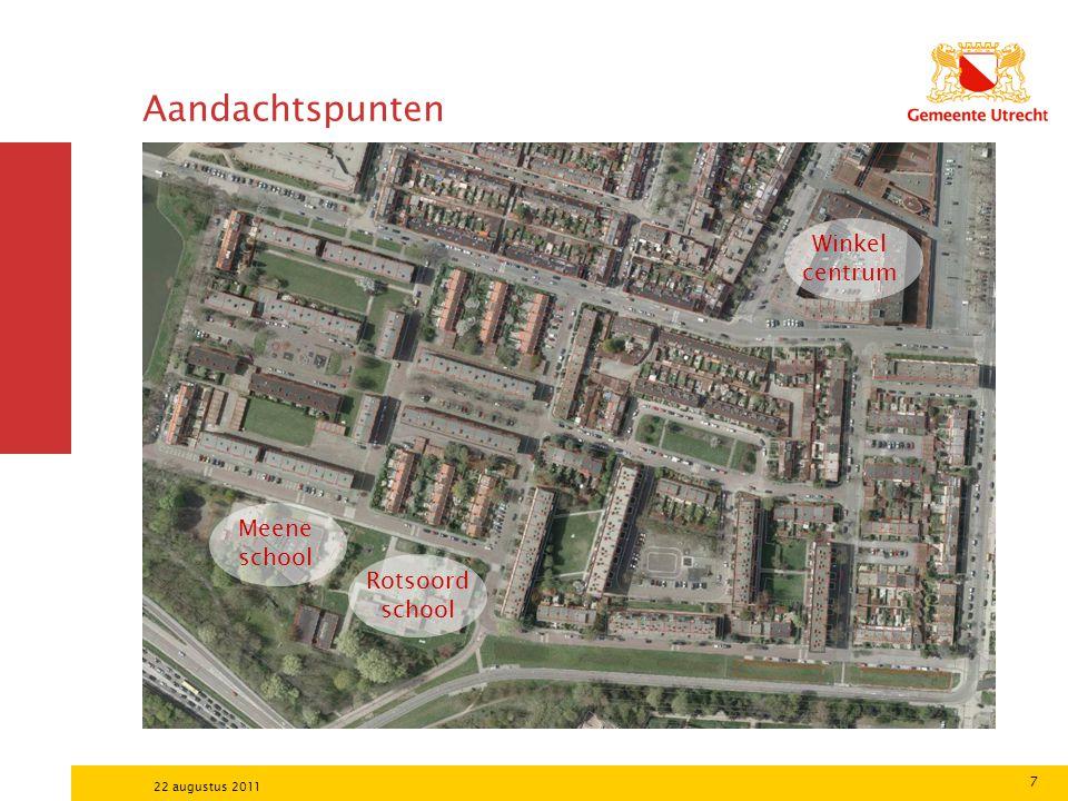 Aandachtspunten Winkel centrum Meene school Rotsoord school