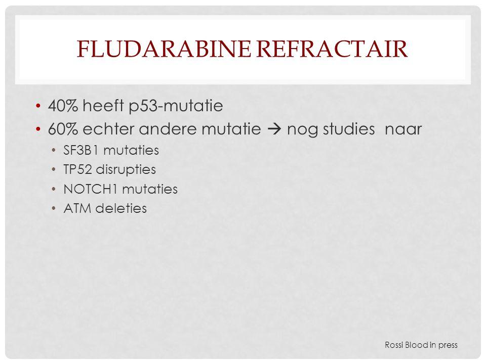 Fludarabine refractair