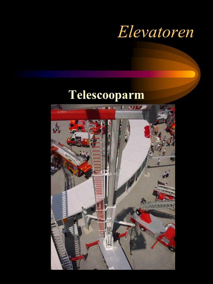 Elevatoren Telescooparm