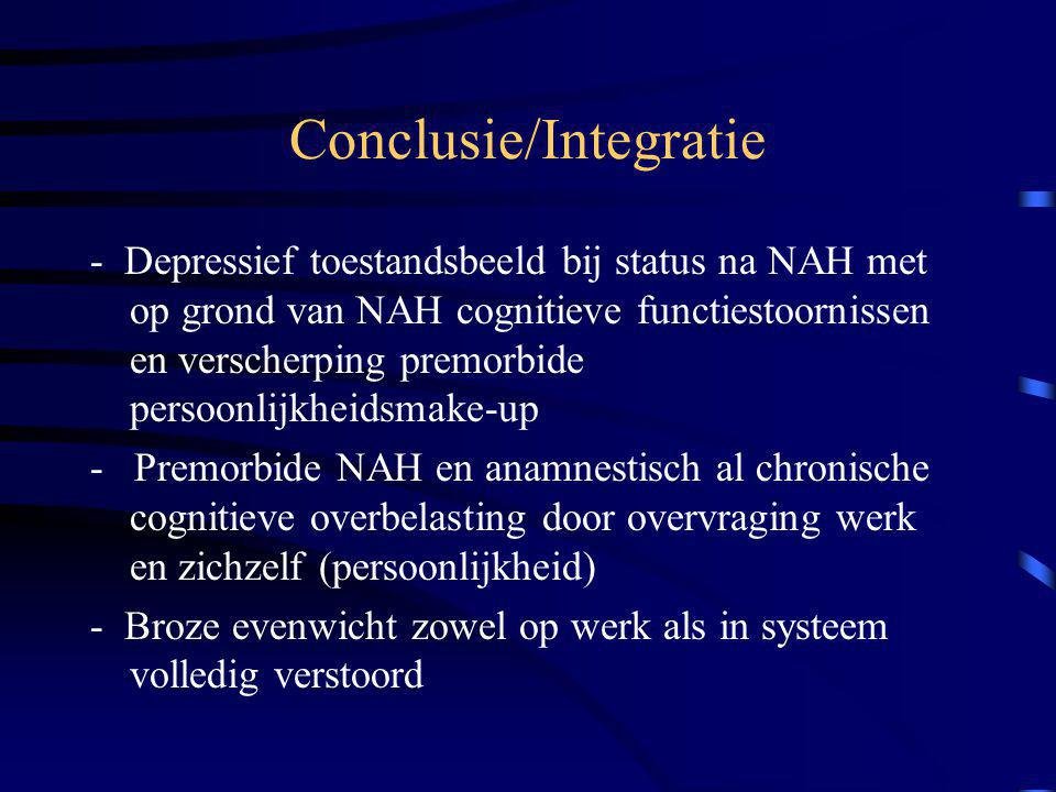 Conclusie/Integratie
