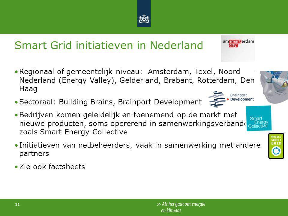 Smart Grid initiatieven in Nederland
