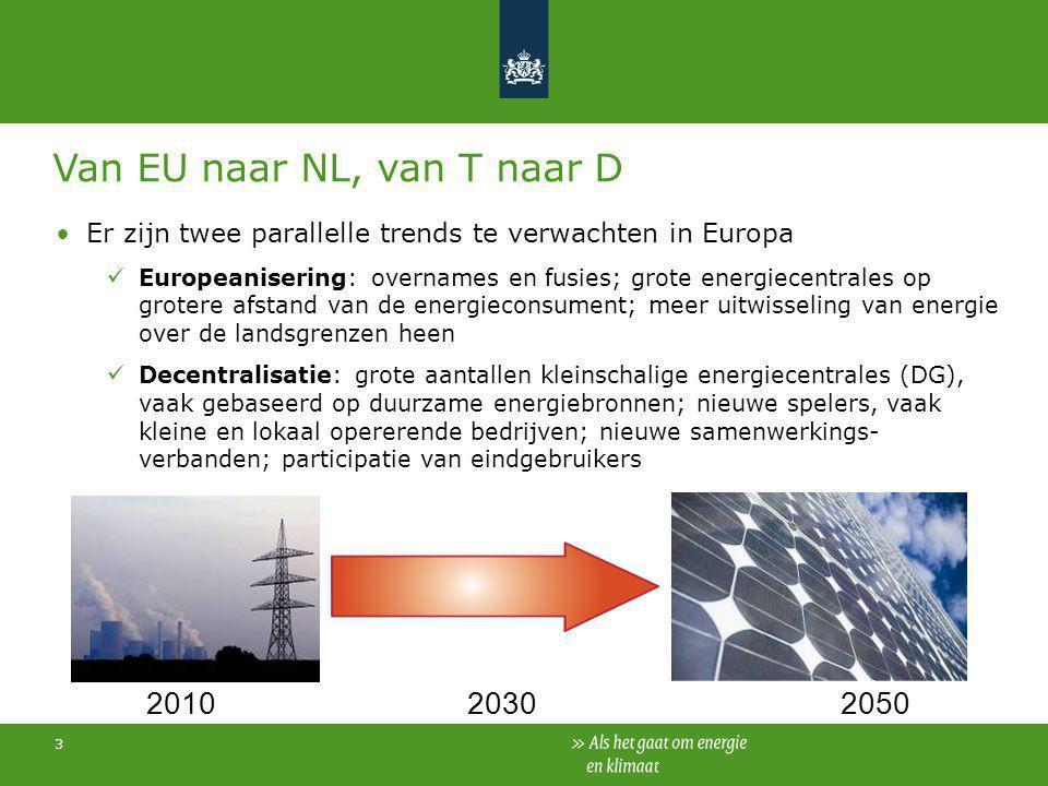 Van EU naar NL, van T naar D
