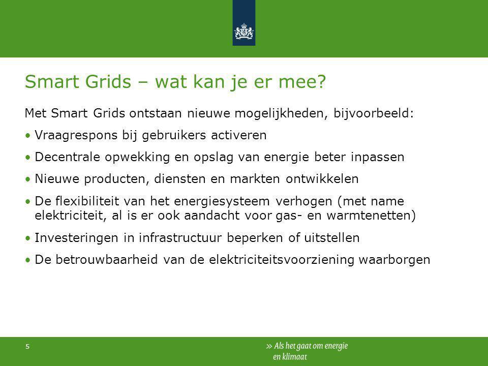 Smart Grids – wat kan je er mee