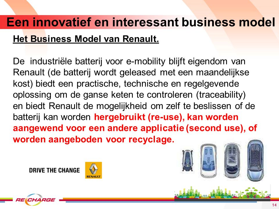 Een innovatief en interessant business model