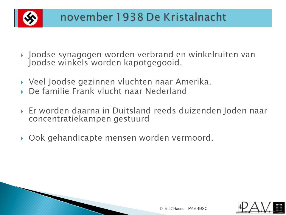 november 1938 De Kristalnacht