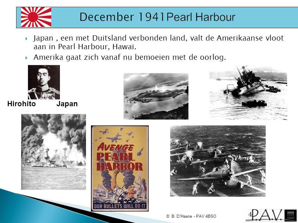 December 1941Pearl Harbour
