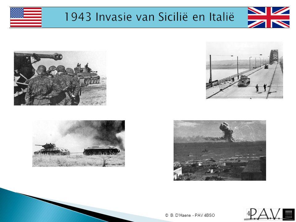 1943 Invasie van Sicilië en Italië