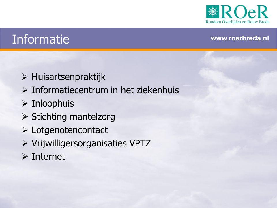 Informatie Huisartsenpraktijk Informatiecentrum in het ziekenhuis