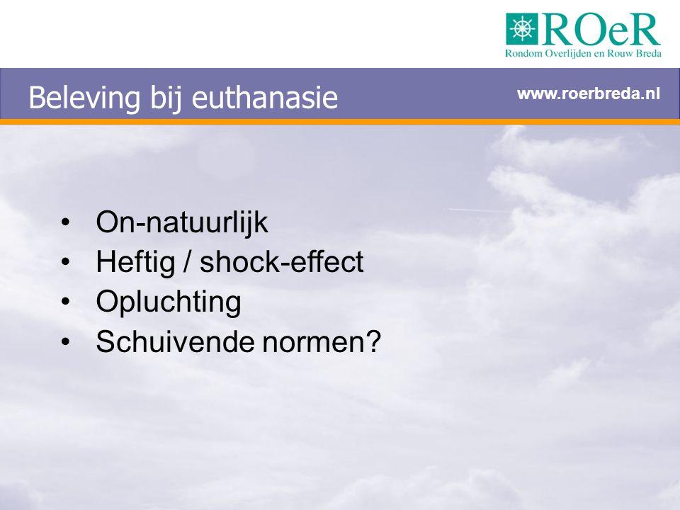 Beleving bij euthanasie