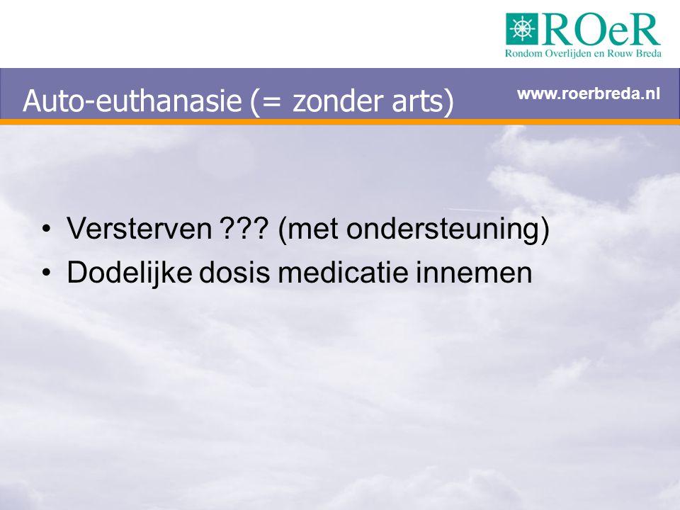 Auto-euthanasie (= zonder arts)