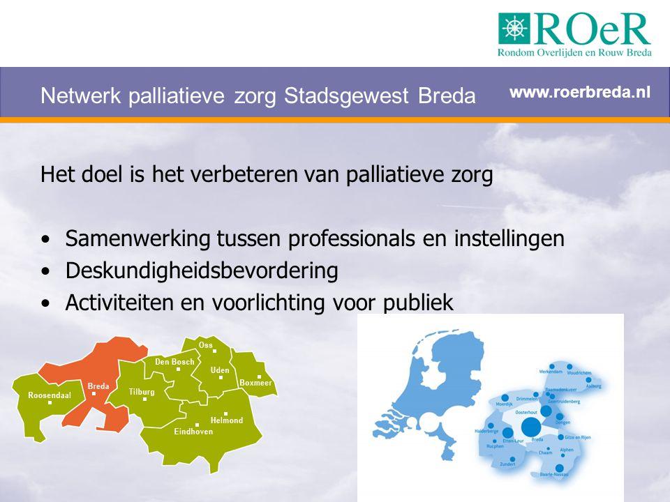 Netwerk palliatieve zorg Stadsgewest Breda