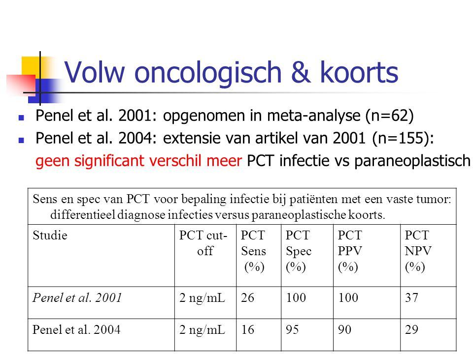 Volw oncologisch & koorts