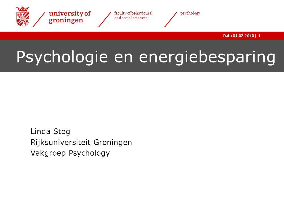 Psychologie en energiebesparing