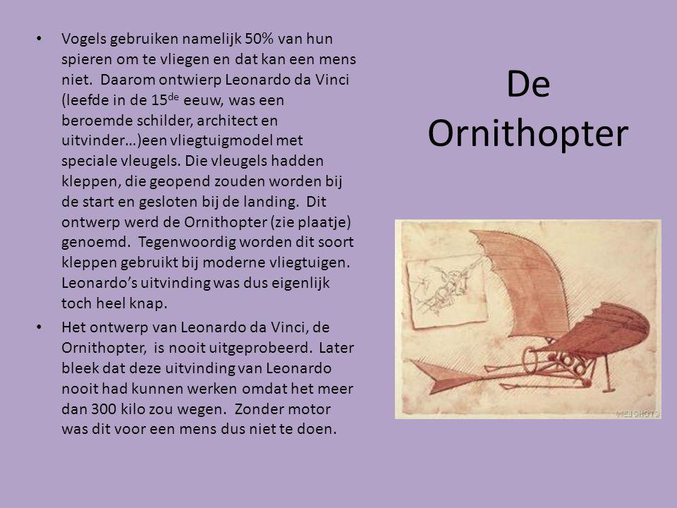 De Ornithopter