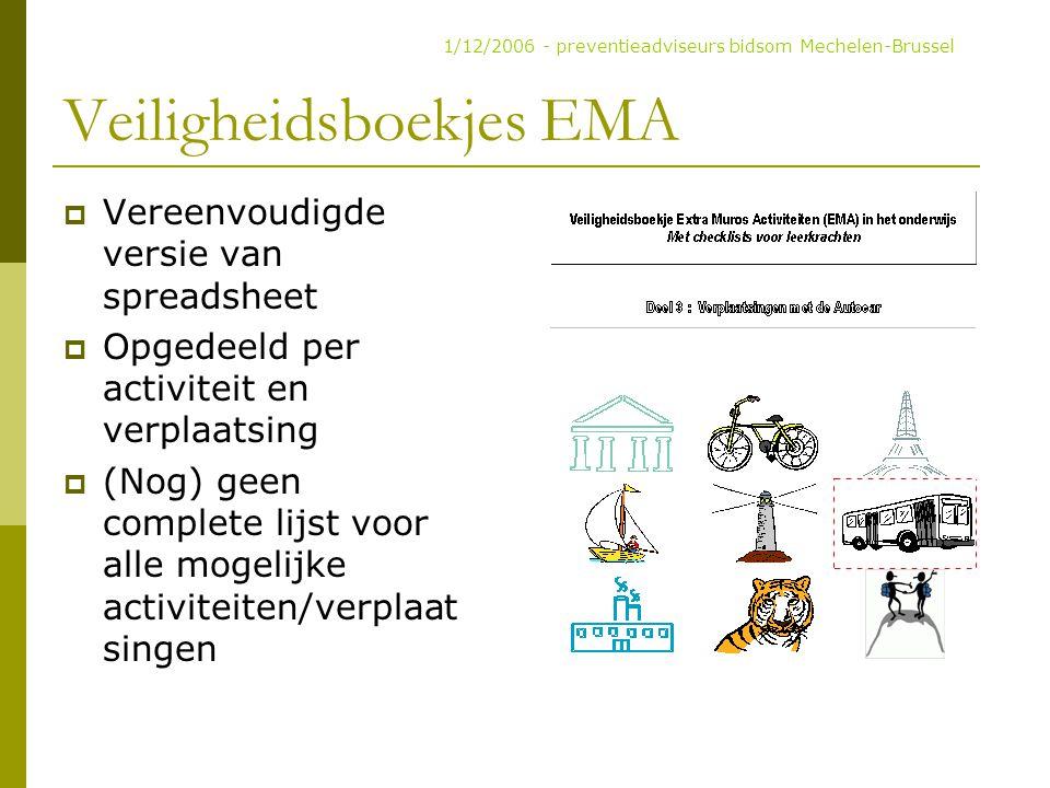 Veiligheidsboekjes EMA