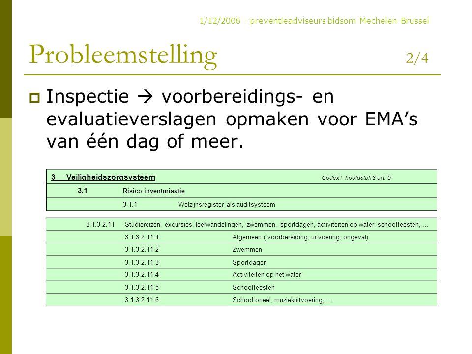 1/12/2006 - preventieadviseurs bidsom Mechelen-Brussel