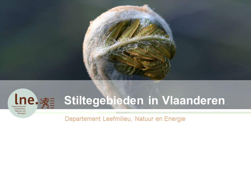 Stiltegebieden in Vlaanderen