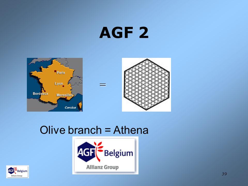 AGF 2 = Olive branch = Athena