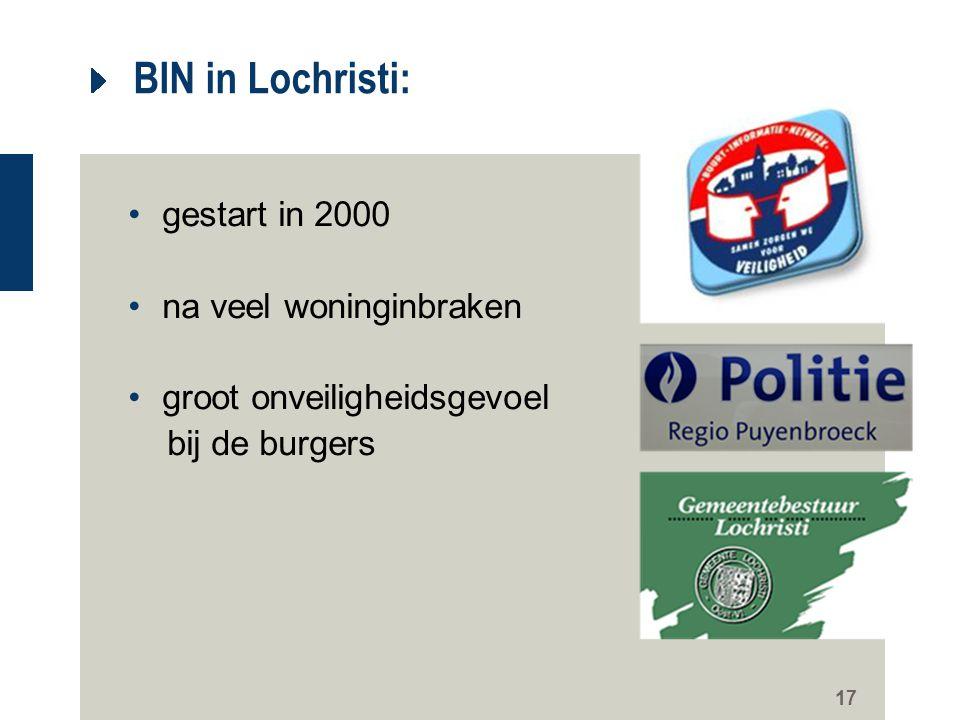 BIN in Lochristi: gestart in 2000 na veel woninginbraken