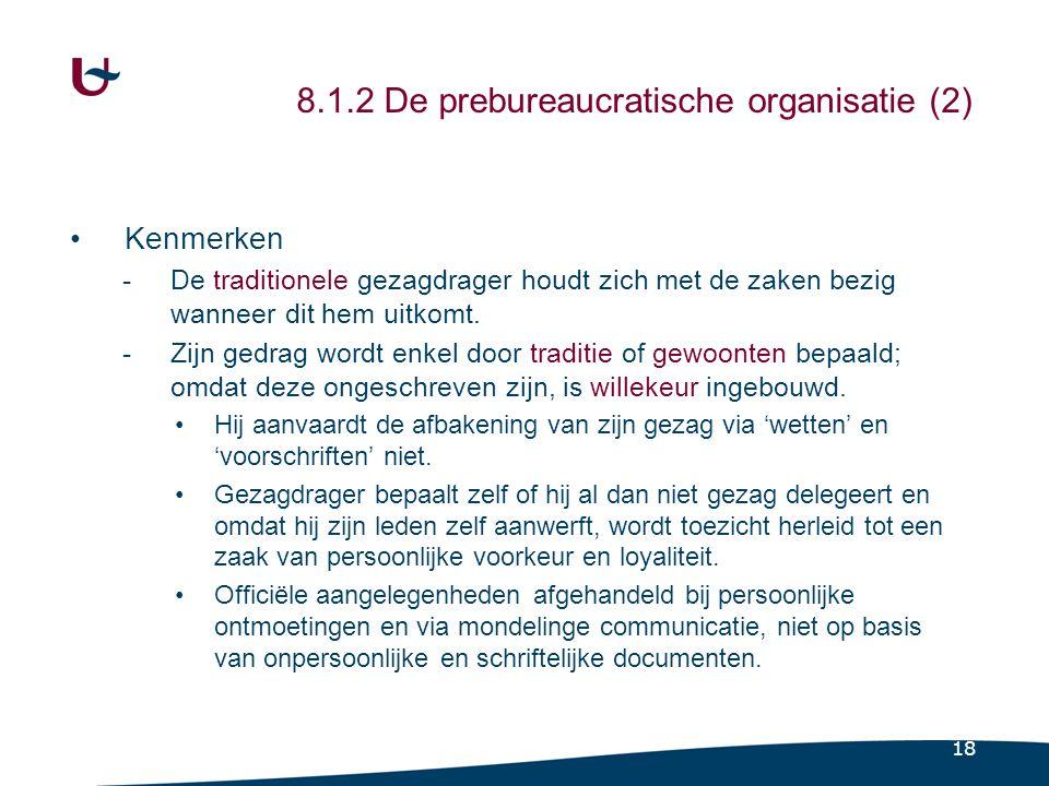 Weber (1922/1956) 8.1.3 De bureaucratie (1)
