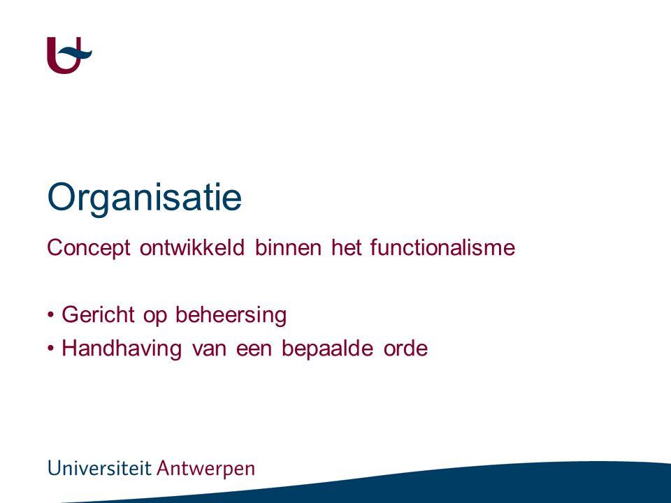 Hoe lukt het 'mensen' om gezamenlijk doelen te realiseren (volgens de sociologie) (1)