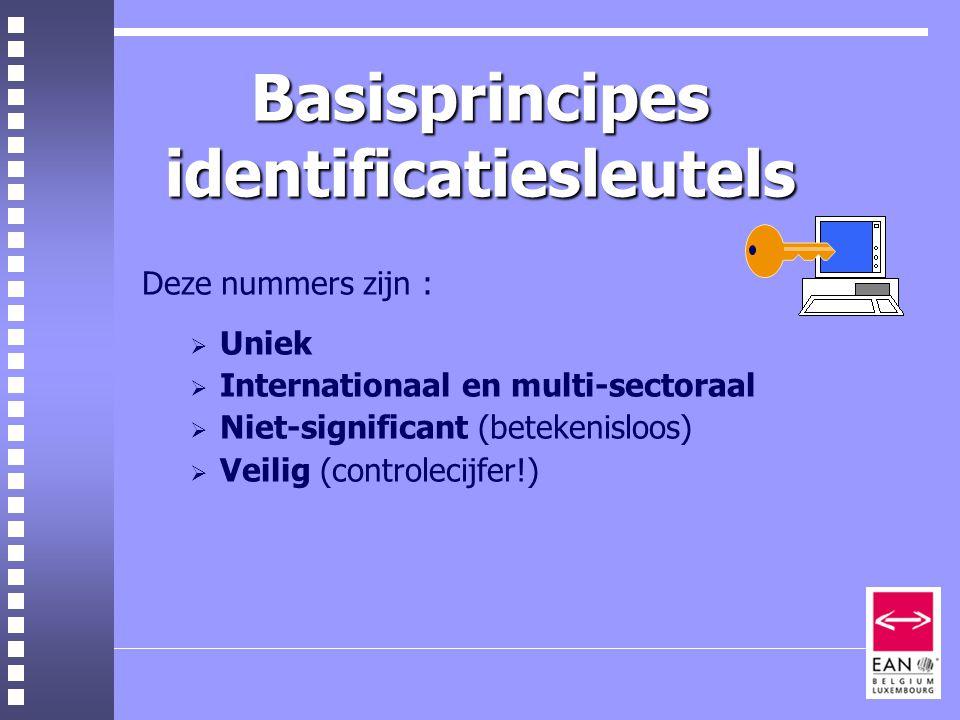 Basisprincipes identificatiesleutels