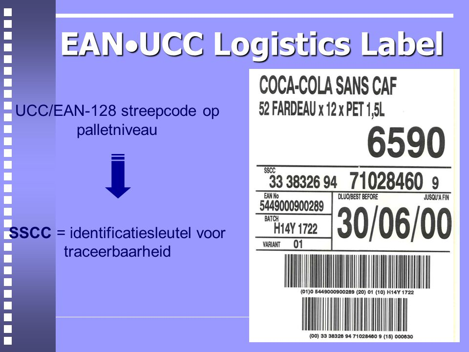 EANUCC Logistics Label