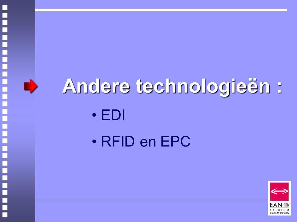 Andere technologieën :