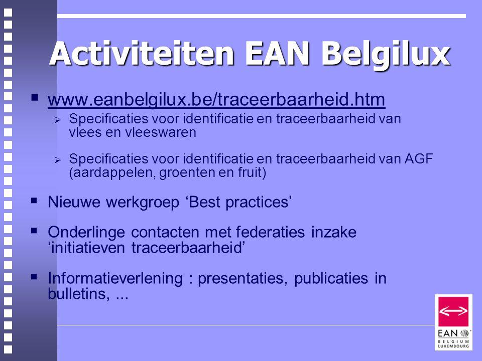 Activiteiten EAN Belgilux