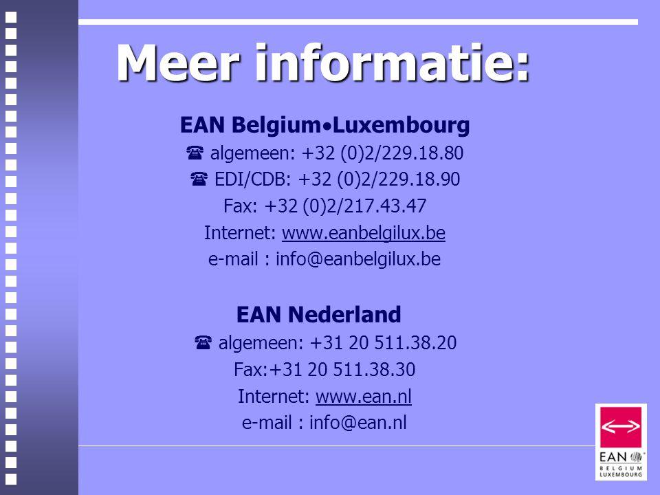 EAN BelgiumLuxembourg