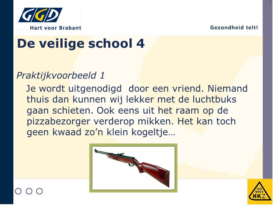 De veilige school 4 Praktijkvoorbeeld 1