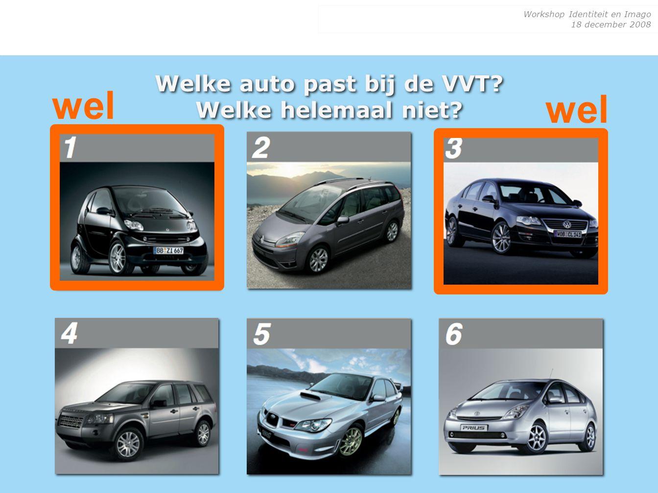 Welke auto past bij de VVT Welke helemaal niet